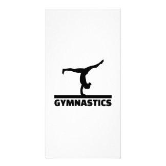 Gymnastics Photo Card