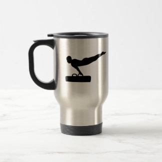 Gymnastics pommel horse mugs
