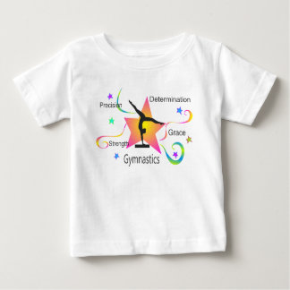 Gymnastics - Precision Strength Determination Grac Baby T-Shirt