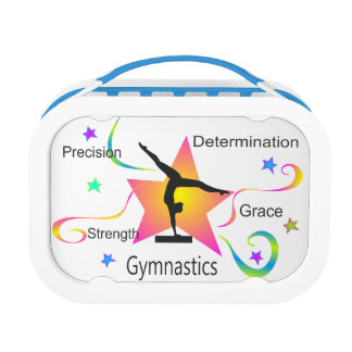 Gymnastics - Precision Strength Determination Grac Lunch Box