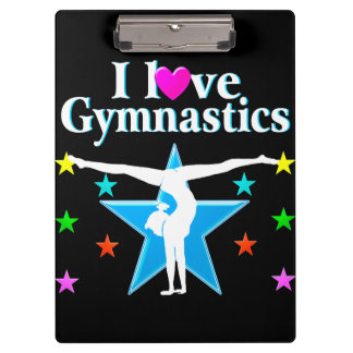 GYMNASTICS PRINCESS CLIPBOARD