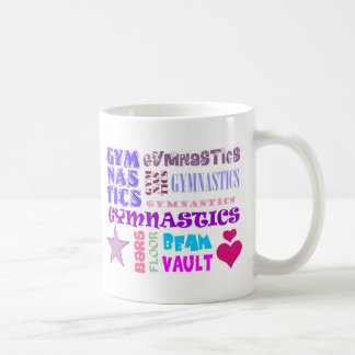 Gymnastics Repeating Coffee Mug