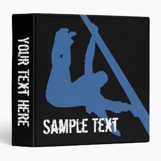 Gymnastics Silhouette Binder