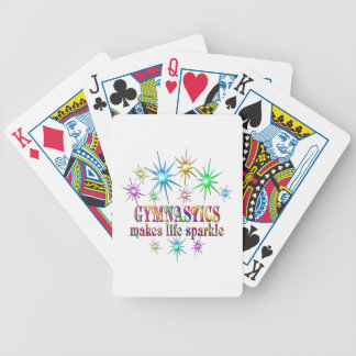 Gymnastics Sparkles Bicycle Playing Cards