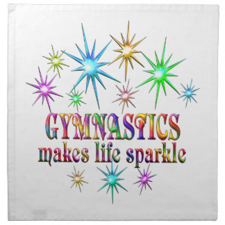 Gymnastics Sparkles Napkin
