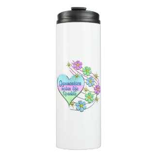 Gymnastics Sparkles Thermal Tumbler
