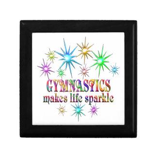Gymnastics Sparkles Trinket Boxes