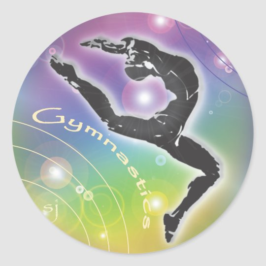 Gymnastics Sticker