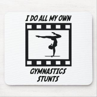 Gymnastics Stunts Mouse Pads