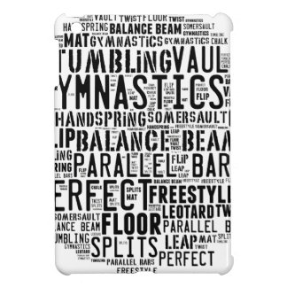 Gymnastics Word Cloud Tumbling Case For The iPad Mini