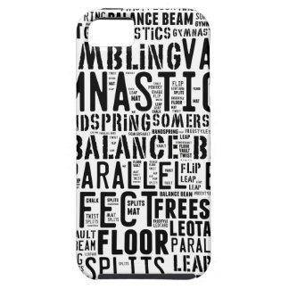 Gymnastics Word Cloud Tumbling iPhone 5 Cases