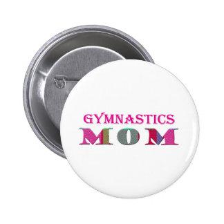 GymnasticsMom 2 Inch Round Button