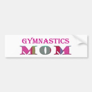 GymnasticsMom Bumper Sticker
