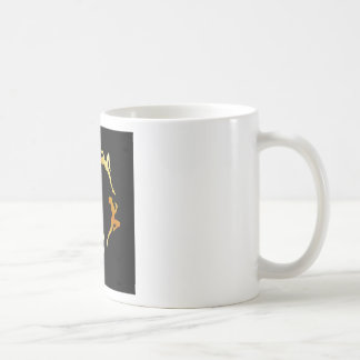 Gymnasts in action classic white coffee mug