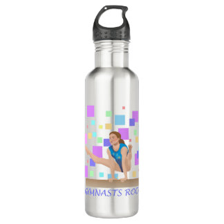 Gymnasts Rock!  Balance Beam 710 Ml Water Bottle