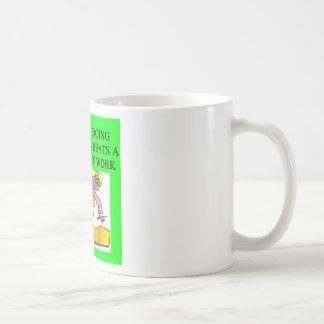 gymnist s delight coffee mug