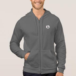 GymWhisperer.com - Gray Full Zip Hoodie