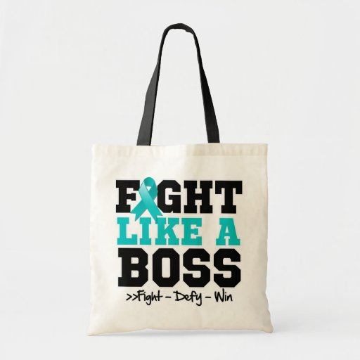 Gynecologic Cancer Fight Like a Boss Bag