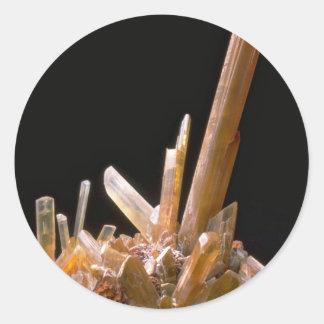 Gypsum Round Sticker