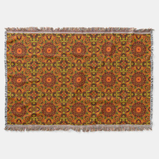Gypsy Autumn Throw Blanket