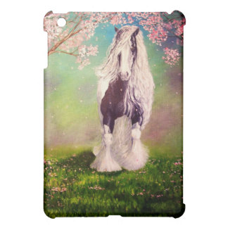 """Gypsy Blossom"" vanner/cob horse iPad Mini Case"