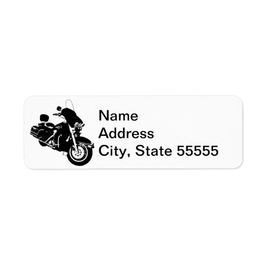 Gypsy by Leslie Peppers Return Address Label