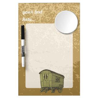 Gypsy caravan wagon Dry-Erase whiteboard