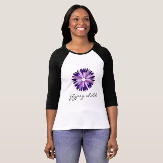 Gypsy child woman's raglan tee