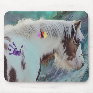 Gypsy Cob Filly Mouse Pad