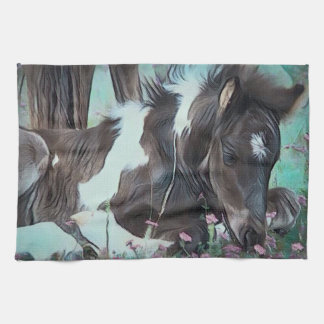 Gypsy Cob Foal Kitchen Towel