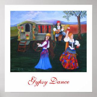 Gypsy Dance Poster