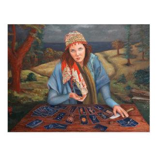 Gypsy Fortune Teller Postcard