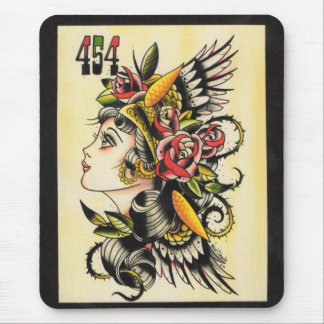 """Gypsy Girl"" Mouse Pad"