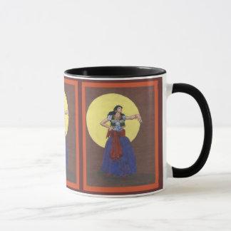 gypsy girl mug
