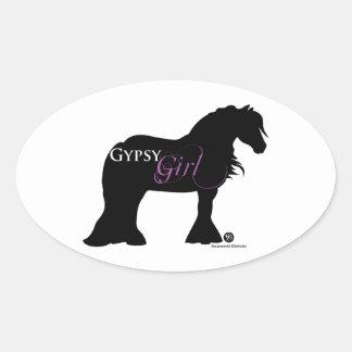 Gypsy Girl Stickers