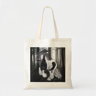 Gypsy Horse in the forest Tote Bag