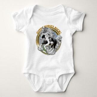 Gypsy Horses Rock Baby Bodysuit