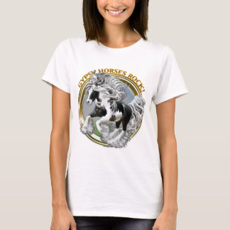 Gypsy Horses Rock T-Shirt