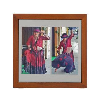 Gypsy in October Costume Desk Organizer