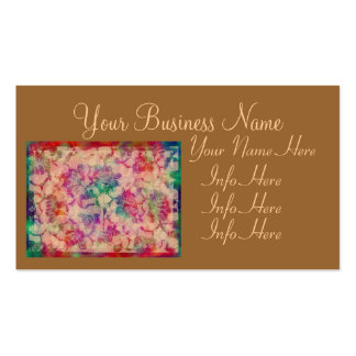 Gypsy Lace Roses Business Card Template