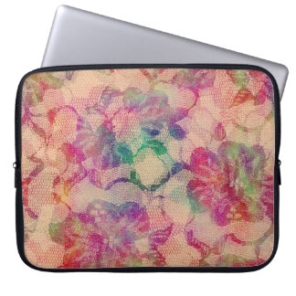 Gypsy Lace Roses Laptop Sleeve
