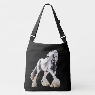 Gypsy Mare Stallion Draft Horse Crossbody Bag