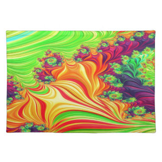 Gypsy Moire Fractal 2 Placemat