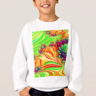 Gypsy Moire Fractal 2 Sweatshirt