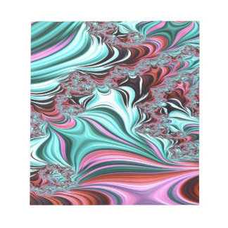 Gypsy Moire Fractal 3 Notepad