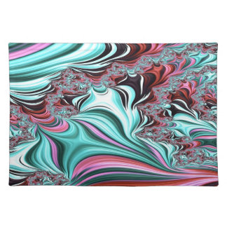 Gypsy Moire Fractal 3 Placemat