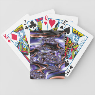 gypsy moire fractal bicycle playing cards