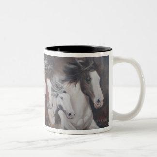 Gypsy Run Horse Mug