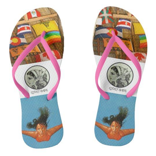 Gypsy Ships - The Traveller Flops Flip Flops