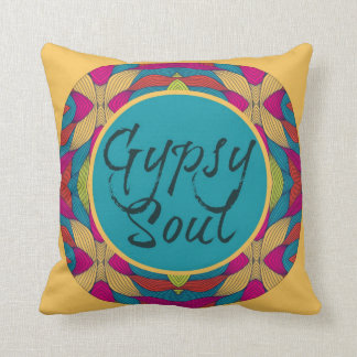 Gypsy Soul Pillow by Endless Summer